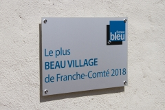 plaque France Bleu